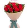 10 szál vörös rózsa