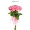 10 szálas rózsaszín rózsa köteg