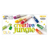 12-ES MŰANYAG TUBUSOS CREATIVE JUNGLE TEMPERA