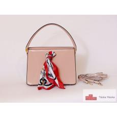 130_pink női lakkos táska