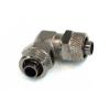 13 / 10mm (10x1,5mm) L tömlő csatlakozó - fekete nikkel
