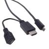 18030 MHL kábel Samsung Galaxy S3-hoz és Note II-höz