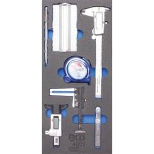1/3 szerszámkocsi szerszámkocsihoz: 7 db mérőszerszámmal (BGS 4031) autójavító eszköz