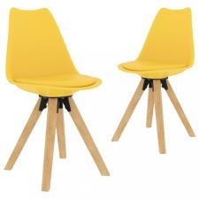 2 db sárga étkezőszék bútor