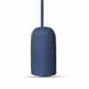 - 3743 Beton csillár (E27) - kék