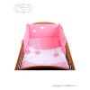 3-részes ágyneműgarnitúra Belisima Csillagok 90/120 rózsaszín | Rózsaszín | 90/120 cm