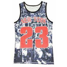 3D NEW YORK Jordan 23 Kosárlabda Trikó kosárlabda felszerelés