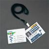 3L Névjegytartó, hidegen laminálható, nyakba akasztható, 112x96 mm,