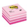 3M POSTIT 76x76 mm 450 lapos pink öntapadó jegyzettömb
