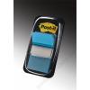 3M POSTIT Jelölőcímke, műanyag, 50 lap, 25x43 mm, 3M POSTIT, élénk kék (LPJ68023)