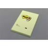 3M POSTIT Öntapadó jegyzettömb, 102x152 mm, 100 lap, kockás, 3M POSTIT, sárga