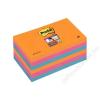 3M POSTIT Öntapadó jegyzettömb, 76x127 mm, 6x90 lap, 3M POSTIT Super Sticky, Bangkok (LP6556SSEG)