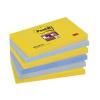 3M POSTIT Öntapadó jegyzettömb, 76x127 mm, 6x90 lap, 3M POSTIT  Super Sticky , New York