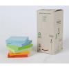 3M POSTIT Öntapadó jegyzettömb, 76x76 mm, 100 lap, környezetbarát, 3M POSTIT, szivárvány színek (LPK6541RPT)