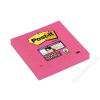 3M POSTIT Öntapadó jegyzettömb, 76x76 mm, 90 lap, 3M POSTIT Super Sticky, pink (LP6546SSPNK)