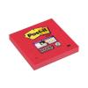 "3M POSTIT Öntapadó jegyzettömb, 76x76 mm, 90 lap,  ""Super Sticky"", Piros"