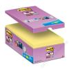 3M POSTIT Öntapadó jegyzettömb csomag, 76x76 mm, 16x90 lap, 3M POSTIT Super Sticky, sárga (LP654P16CS)