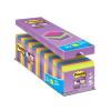 """3M POSTIT Öntapadó jegyzettömb csomag, 76x76 mm, 24x90 lap,  """"Super Sticky"""", vegyes"""