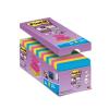 """3M POSTIT Öntapadó jegyzettömb csomag, """"Z"""", 76x76 mm, 16x90 lap, , """"Super Sticky"""", vegyes"""