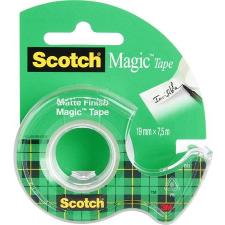 """3M Scotch Ragasztószalag, adagolón, kézi, 19 mm x 7,5 m, 3M SCOTCH """"Magic Tape 810"""" ragasztószalag"""