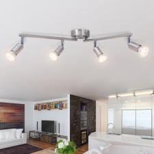4 LED-es spot mennyezeti lámpa selyemfényű nikkel kültéri világítás