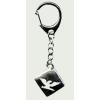 4 szögletes Turul kulcstartó 2x2 cm