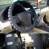 4Cars Kormányvédő 37-39cm gumis fekete-szürke 95200
