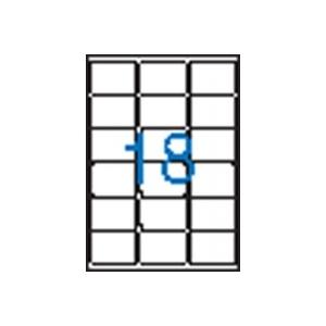 VICTORIA 3 pályás etikett, 63,5x46,6 mm, 1800 etikett/csomag