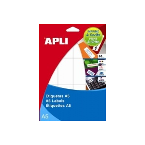 APLI körcímke A5 íven, 10 mm átmérő, 3060 etikett/csomag