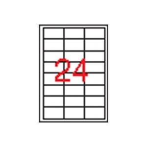 APLI 3 pályás etikett, 64,6 x 33,8 mm, 12.000 db/csomag