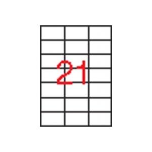 APLI 3 pályás etikett, 70 x 42,4 mm, 10.500 etikett/csomag