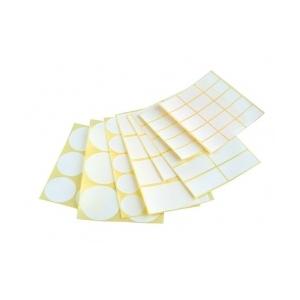 Iscin öntapadó címke 40 mm kör, 60 címke/csomag
