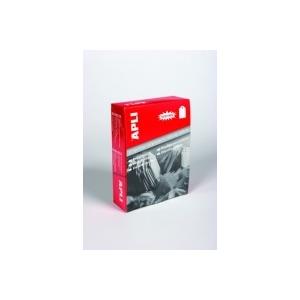 APLI 36 x 53 mm árazócímke zsinórral, fehér