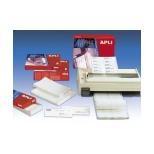 APLI 3 pályás mátrix etikett, 88,9 x 36 mm, 12.000 etikett/csomag