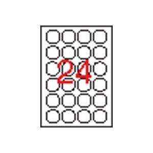 APLI biztonsági etikett, köralakú, 40 mm átmérő, 240 etikett/csomag