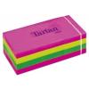 TARTAN 38x51 öntapadós jegyzettömb, neon