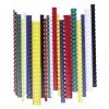 FELLOWES 14 mm műanyag spirál, 81-100 lapig, piros