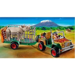 Playmobil Orrszarvúszállító vadőr - 4832
