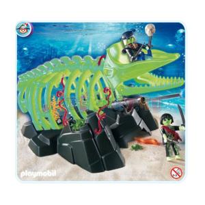 Playmobil Óriás cet kísértetcsontváza 4803