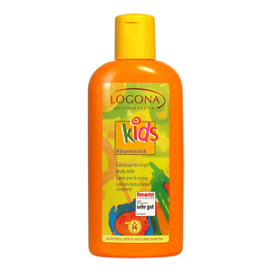 Logona Kids testápoló tej - 200 ml