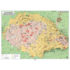 Stiefel Eurocart Kft. Magyar néprajzi térkép DUO