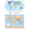 Stiefel Eurocart Kft. A Föld egyedi tematikus térképei (2 db / lap)
