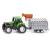 Siku : Traktor utánfutóval - Kisautók