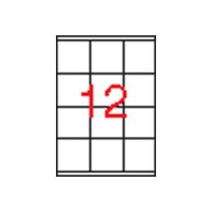 APLI 3 pályás etikett, 70 x 67,7 mm, 1200 etikett/csomag
