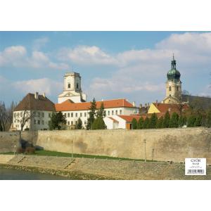 Stiefel Eurocart Kft. Győr tányéralátét könyöklő hátoldalon Győr várostérképe