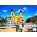 Stiefel Eurocart Kft. Debrecen tányéralátét könyöklő   hátoldalon Debrecen várostérképe