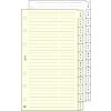 SATURNUS gyűrűs kalendáriumhoz telefonregiszter fehér