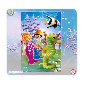 Playmobil Szivárványzátony hercegi csemetéi - 4814