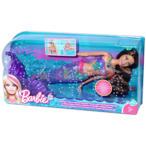 Mattel Sellő Barbie Barna