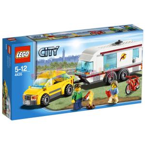 LEGO City - Autó és lakókocsi 4435
